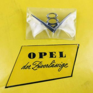 NEU + ORIGINAL Opel Diplomat B V8 Emblem Chrom Logo Schriftzug V8-Emblem