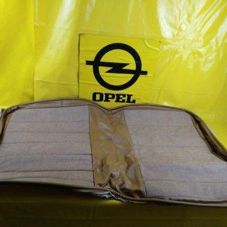 NEU + ORIG Isuzu Sitzbezug braun Teilleder Stoff Sitz Bezug Leder Überzug