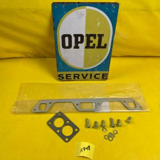 NEU Opel Kadett A B Dichtung Auspuff Krümmer Schrauben OHV