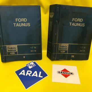 ORIGINAL FORD P7 A + B 17 M 20 M Ersatzteilkatalog Katalog Ersatzteile Band 1+2