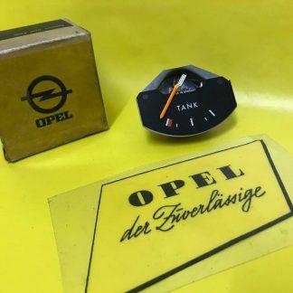 NEU + ORIGINAL Opel Kadett C ausg. SR + GTE Kraftstoffanzeiger Armatur Anzeige