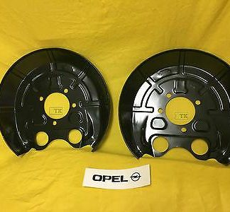 NEU ORIG Opel Satz Ankerblech hinten Vectra C Signum Abdeckblech Bremsscheibe !