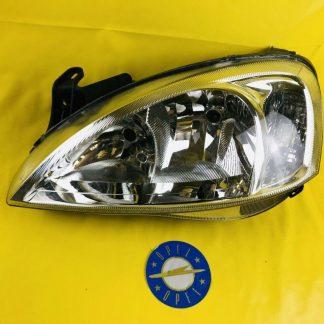 NEU + ORIGINAL Opel Corsa C + Combo Scheinwerfer links H7 Hauptscheinwerfer