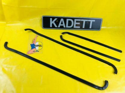 NEU Satz Türschachtleisten außen vorne + hinten Opel Kadett C 4-türer Limo Kombi