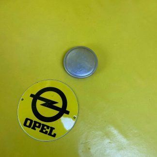 NEU + ORIGINAL Opel Olympia Rekord P1/P2 Tankdeckel Tankerschluss Tank Deckel