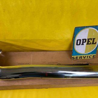 NEU + ORIGINAL Opel Rekord A B Stoßstange vorne rechts Chrom