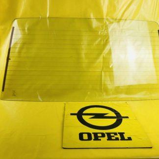 NEU + ORIG Opel Kadett D Heckscheibe NOS Heizleiter Glas hinten Scheibe