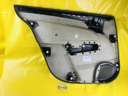 NEU + ORIG Opel Astra H Verkleidung Tür hinten rechts Türverkleidung anthrazit