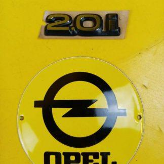 NEU + ORIGINAL GM Opel Calibra Schriftzug 2,0 i Emblem Logo Schrift Turbo C20LET