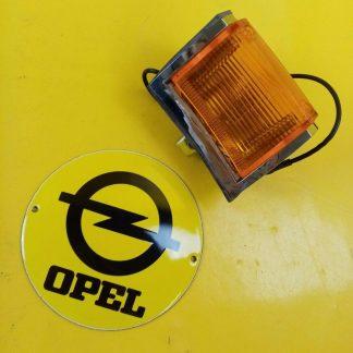 NEU + ORIGINAL Opel Rekord C Commodore A Blinker Chrom Gehäuse Glas links