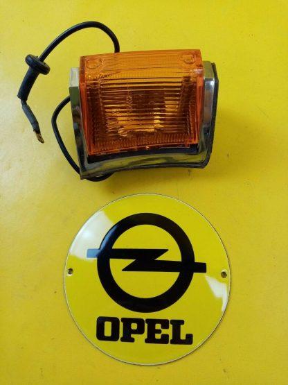NEU + ORIGINAL Opel Rekord C Commodore A Blinker Chrom Gehäuse rechts