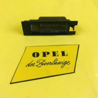 NEU + ORIGINAL Opel Zafira B Nummernschildbeleuchtung Leuchte Lampe Kennzeichen