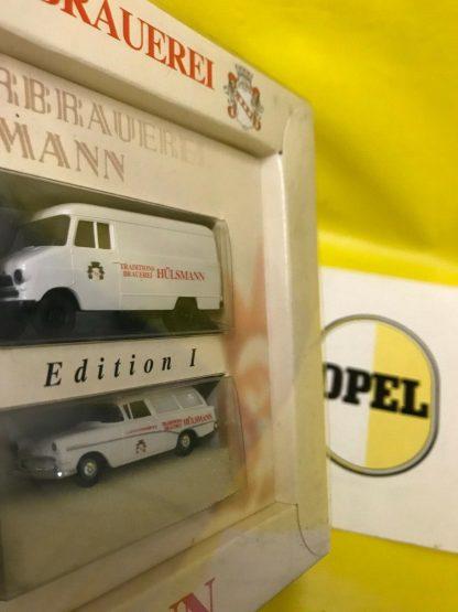 NEU + ORIGINAL Brekina P1 Kombi + Opel Blitz 1,9 to Modelauto limitierte Auflage