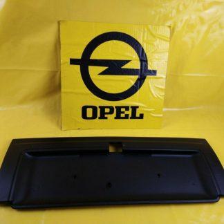 NEU + ORIGINAL Opel Senator B Heckblende schwarz Blende Verkleidung Heckblech