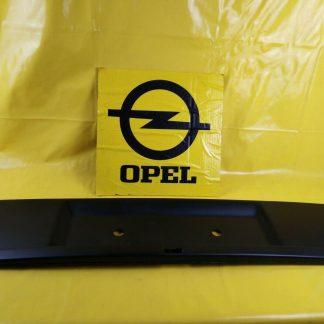 NEU + ORIGINAL Opel Senator B Heckblende schwarz Verkleidung Heckblech