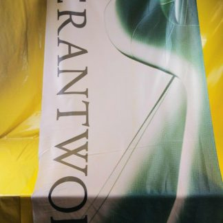 ORIGINAL OPEL Fahne '' Verantwortung '' Reklame Werbung RAR SELTEN