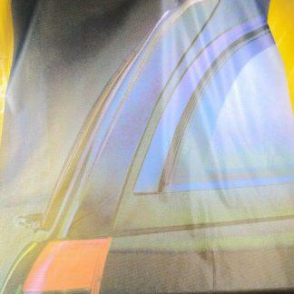 ORIGINAL OPEL Fahne Auto Reklame Werbung RAR SELTEN Omega A B Kombi Caravan