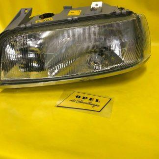 NEU + ORIGINAL Opel Senator B Scheinwerfer + Zierleiste links H4 Bosch NOS 24V