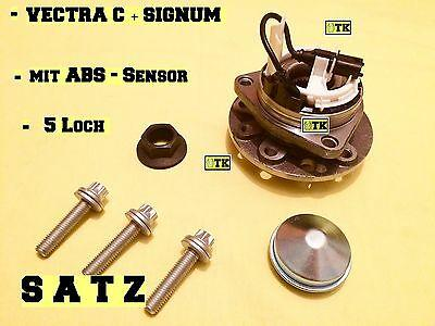 SATZ Opel Vectra C Signum Radlagersatz Radnabe mit ABS Sensor Radlager GTS OPC