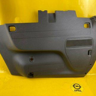 NEU + ORIGINAL Opel Zafira C Verkleidung Seitenwand unten jet black