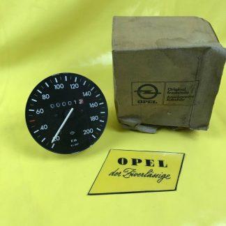 NEU + ORIG Opel Ascona A Manta A Tacho Anzeiger Cockpit Tachometer Speedmeter