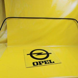NEU + ORIG GM Opel Omega B Kombi Rahmen Scheibe Heckscheibe Dichtung Gummi