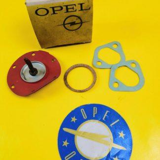 NEU + ORIGINAL Opel Kapitän P 2,5 + PL 2,6 Dichtung Benzinpumpe P1 P2