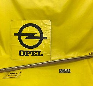 NEU + ORIGINAL Opel Olympia Rekord P1 Zierleiste Tür links Fahrertür 2 türer NOS