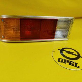 NEU + ORIG Rekord D Coupe Limousine Sprit Rücklicht komplett hinten links