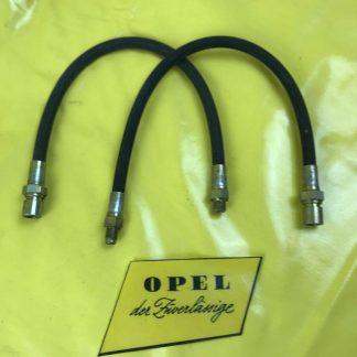 NEU + ORIG Opel Rekord C Commodore A Kapitän Admiral Diplomat Set Bremsschlauch