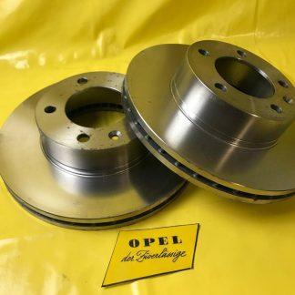 NEU MADE IN GERMANY Satz Bremsscheiben Durchm. 305mm Opel Movano Ranault