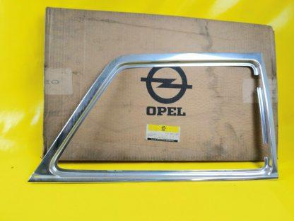 NEU + ORIGINAL Opel Kadett B Limousine Chrom Fenster Rahmen rechts