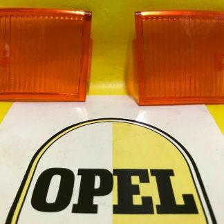 NEU + ORIGINAL OPEL Kadett B 1.Serie SATZ Rücklichtglas re + li Glas NOS Gläser