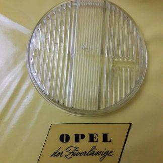 NEU + ORIGINAL Opel Commodore A Fernscheinwerfer Glas Streuscheibe Knick Bosch