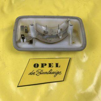 NEU + ORIGINAL Opel Kadett A Rücklicht Fassung Gehäuse + Dichtung hinten links