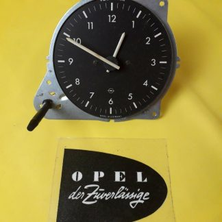 NEU + ORIGINAL Opel Rekord D Commodore B Uhr Zeituhr Tacho Zeit Zeiger Armatur