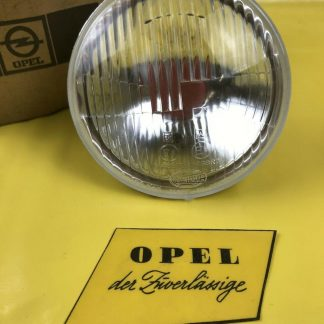 NEU + ORIGINAL Opel Manta A Scheinwerfer Abblendlicht Einsatz Glas Reflektor