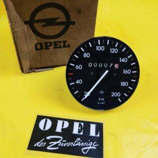 NEU + ORIG Opel Ascona A Manta A Tacho Tachometer MDZ = 697 Cockpit Speedmeter
