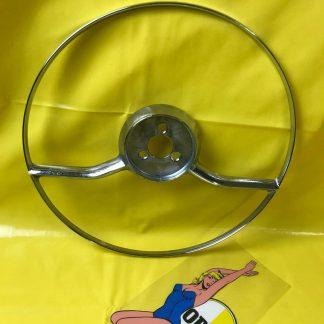 ORIGINAL OPEL Kapitän Modell 1954 1957 Hupenring Chromring Lenkrad Chrom Ring