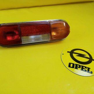 NEU + ORIG Opel Kadett A Coupe Limousine Rücklicht Chrom kpl. hinten rechts