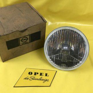 NEU + ORIGINAL Opel Manta A Scheinwerfer Glas + Reflektor H 1