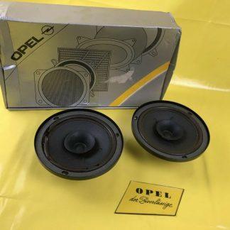 NEU + ORIGINAL Opel Montery Isuzu Trooper Set Lautsprecher Tür vorne