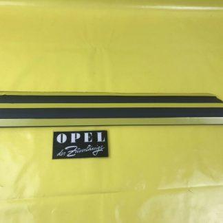 NEU + ORIGINAL Opel Kadett E 3-türig Zierleiste Seitenwand links