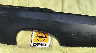 NEU Seitenwand Seitenteil LINKS Opel Rekord A Radlauf Blech Endspitze Kotflügel