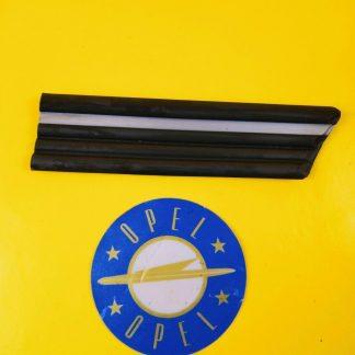 NEU + ORIG Opel Kadett E Zierleiste Kotflügel unten rechts Streifen silber grau