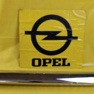 NEU Opel Kadett A Limousine Coupe Stoßstange hinten Bumper Chrom
