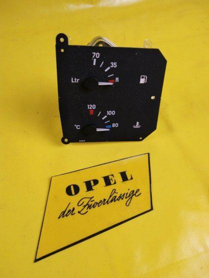 NEU + ORIGINAL Opel Omega A Kraftstoff Temperaturanzeiger Drehzahlmesser