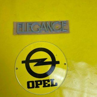 NEU + ORIGINAL GM/ Opel Corsa C Meriva A Combo Schriftzug Elegance Emblem