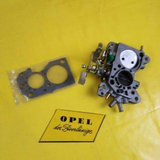 NEU + ORIG GM / Opel Ascona B Manta B 1,8S Vergaserdeckel Drosselklappenteil