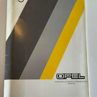 ORIGINAL OPEL Broschüre + Werksfotos Manta GSi Ascona GT Kadett GSI Corsa Monza